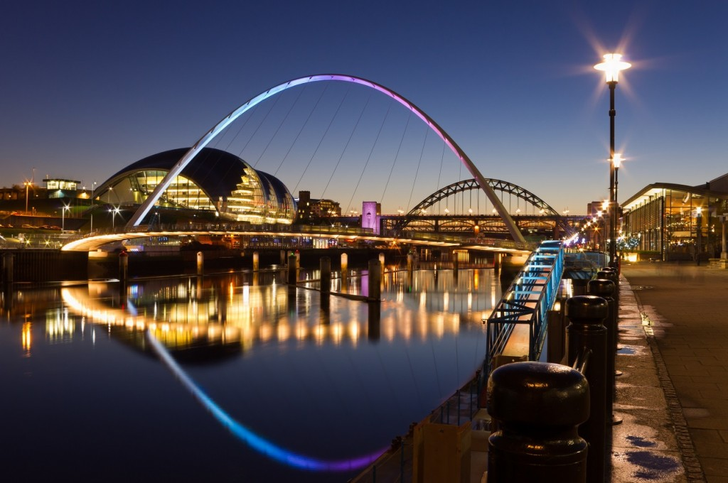 Tyne and Wear in North East England