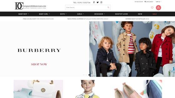 Designerchildrenswear Sunderland