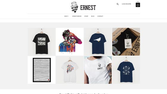 Ernest Clothing Newcastle